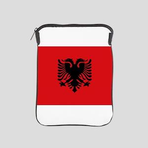 Albanian flag iPad Sleeve