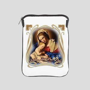 Mary was Pro-Life (square) iPad Sleeve