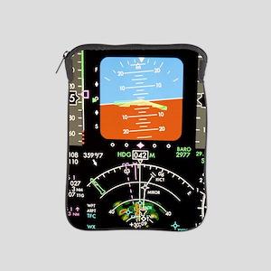 Aeroplane control panel display iPad Sleeve