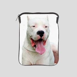 Dogo_Argentino iPad Sleeve