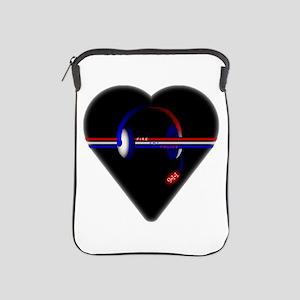 911 Dispatcher (Heart) iPad Sleeve