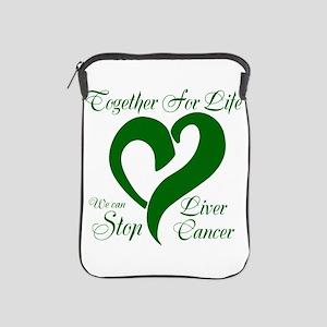 Stop Liver Cancer iPad Sleeve