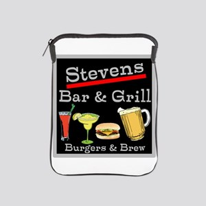 Personalized Bar and Grill iPad Sleeve