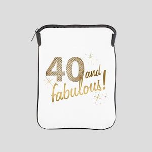 40 and Fabulous iPad Sleeve