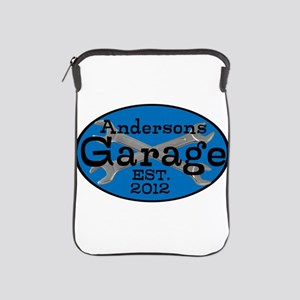 Personalized Garage iPad Sleeve