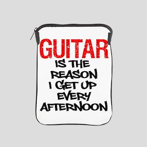 Guitar Reason I Get Up iPad Sleeve