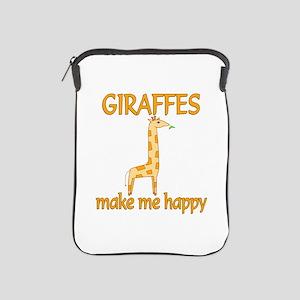 Giraffe Happy iPad Sleeve