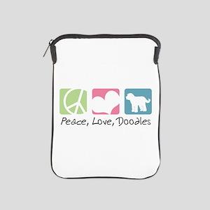 Peace, Love, Doodles iPad Sleeve