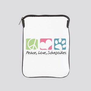 Peace, Love, Schnoodles iPad Sleeve