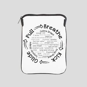 pull breathe kick glide iPad Sleeve