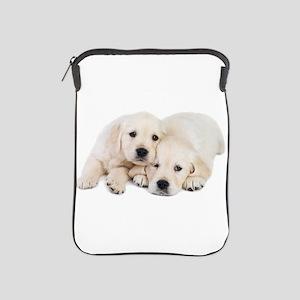White Labradors iPad Sleeve