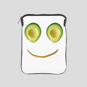 Cute Avocado Face Rieko's Fave iPad Sleeve