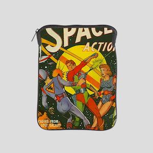spaceactioncover iPad Sleeve