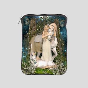 Princess of Unicorns iPad Sleeve
