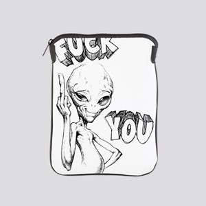 Paul the Alien F You iPad Sleeve