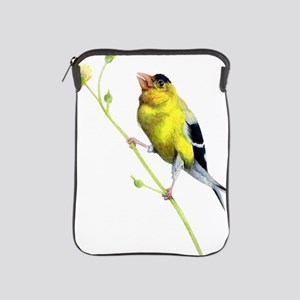 Yellow Finch - Get a Grip - Artwork by iPad Sleeve