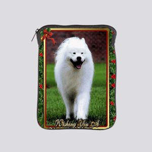 Samoyed Dog Christmas iPad Sleeve