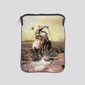 cowboy art iPad Sleeve