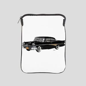 1958 Ford Fairlane 500 Black iPad Sleeve
