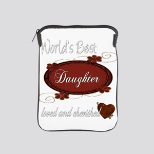 Cherished Daughter iPad Sleeve