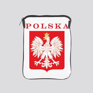 Polska Eagle Red Shield iPad Sleeve