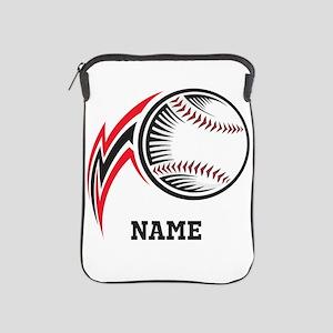 Personalized Baseball Pitch iPad Sleeve