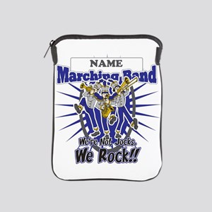 Marching Band Rocks(Blue) iPad Sleeve