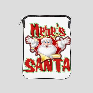 Here's Santa iPad Sleeve