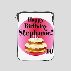 Personalized Name/Age Birthday Cake Pink iPad Slee