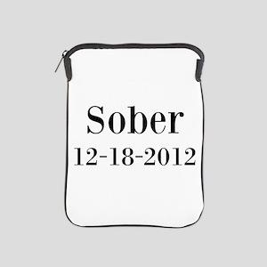 Personalizable Sober iPad Sleeve