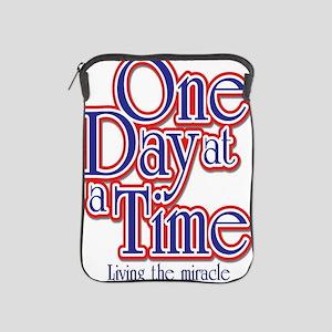 one-day-at-a-time7jpegweb iPad Sleeve