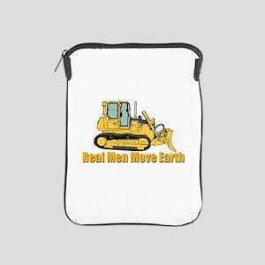 Real Men Move Earth iPad Sleeve