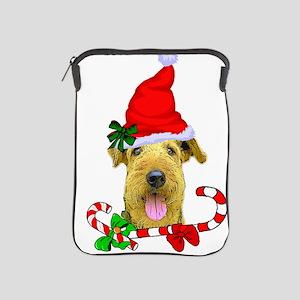 Airedale Terrier Christmas iPad Sleeve