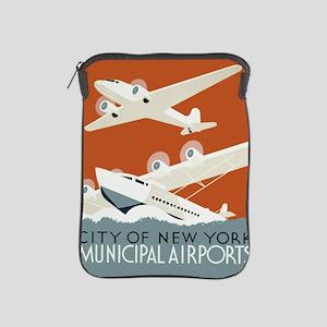 NYC airports iPad Sleeve