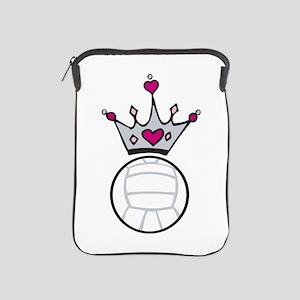 Volleyball Crown iPad Sleeve