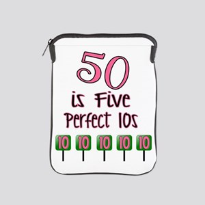 50 is Five Perfect TENS iPad Sleeve
