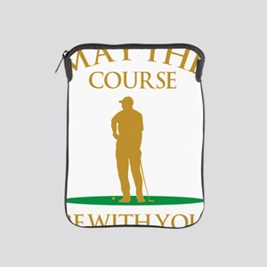 May The Course Be With You iPad Sleeve