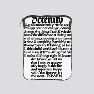 FULL SERENITY.PRAYER iPad Sleeve