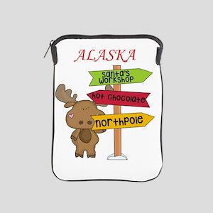 Alaska Moose What Way To The North Pol iPad Sleeve