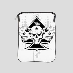ace of spades skull iPad Sleeve