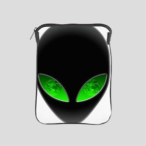 Cool Alien Earth Eye Reflection iPad Sleeve