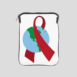 World AIDS Ribbon iPad Sleeve