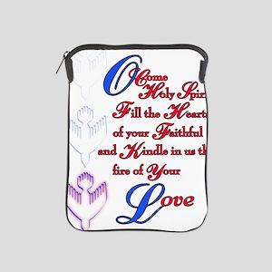 O Come Holy Spirit iPad Sleeve