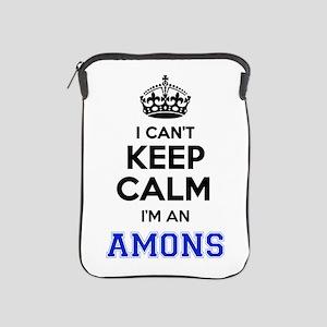 I can't keep calm Im AMONS iPad Sleeve