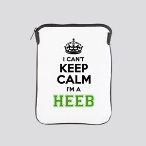 Heeb I cant keeep calm iPad Sleeve