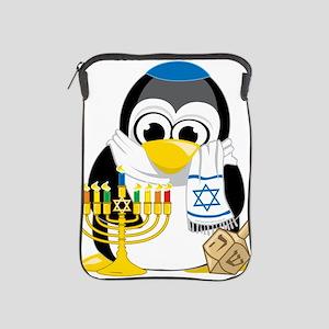Hanukkah-Penguin-Scarf iPad Sleeve