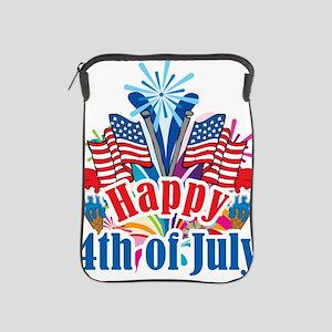 Happy-4th-of-July iPad Sleeve