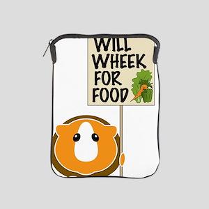 willwheekforfood iPad Sleeve