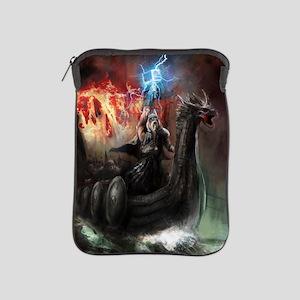 Dragon Viking Ship iPad Sleeve