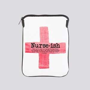 Nurse ish Student Nurse iPad Sleeve